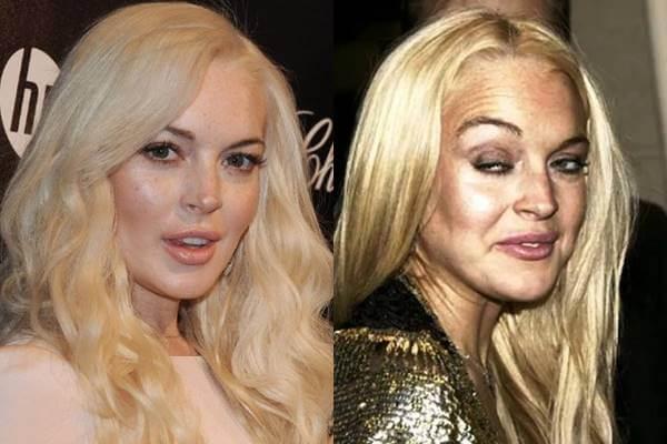 Fotos filtradas de famosas en las que parecen otras: Lindsey Lohan