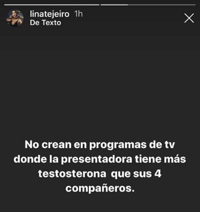 Comentario de Lina Tejeiro para Mary Méndez