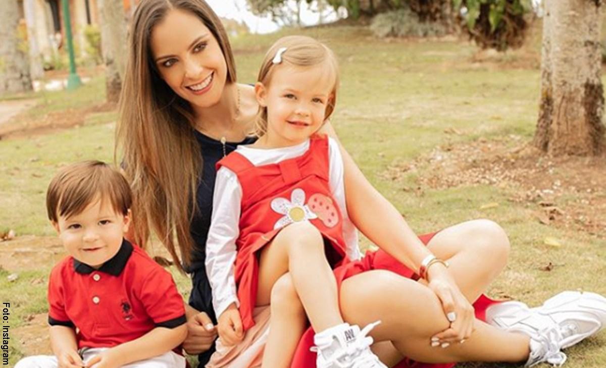 Hijos de Laura Acuña crean sensación en redes sociales