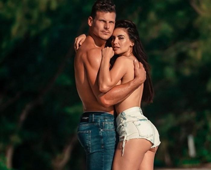 Jessica Cediel junto a Mack Roesch