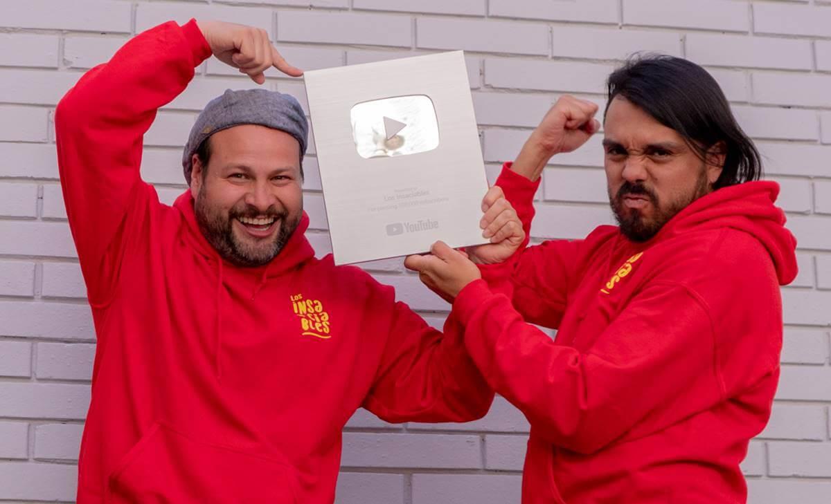 Los Insaciables ganan premio de plata para creadores en Youtube