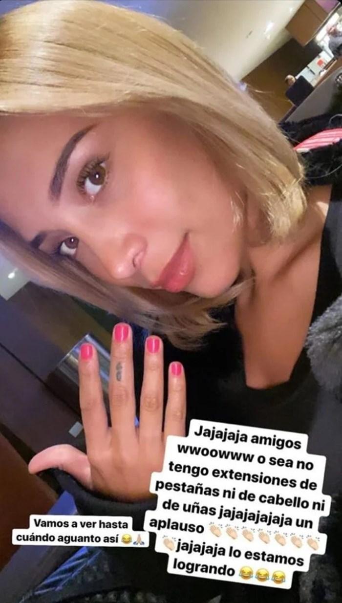 Luisa Fernanda W sin extensiones