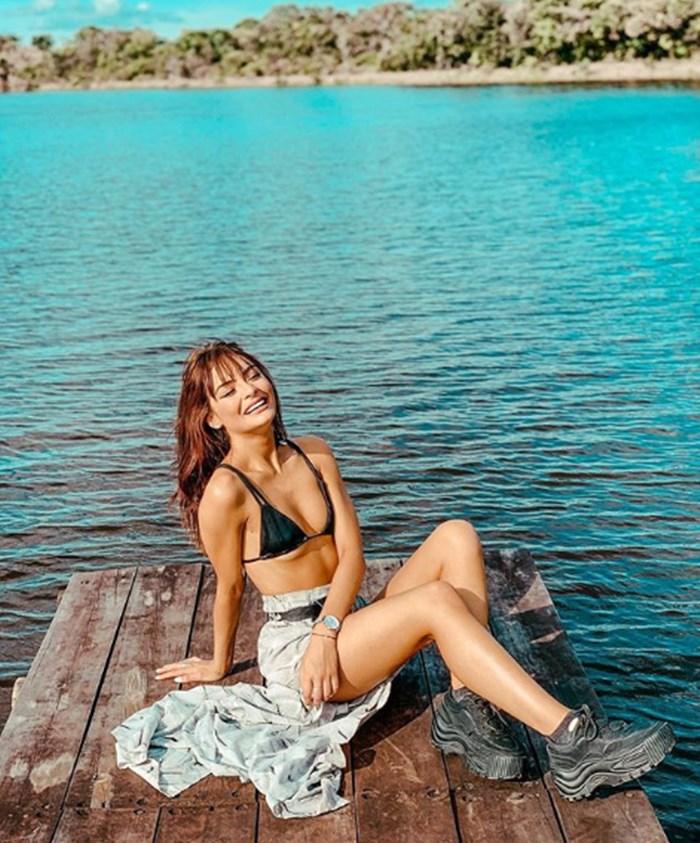 Majo Vargas en bikini