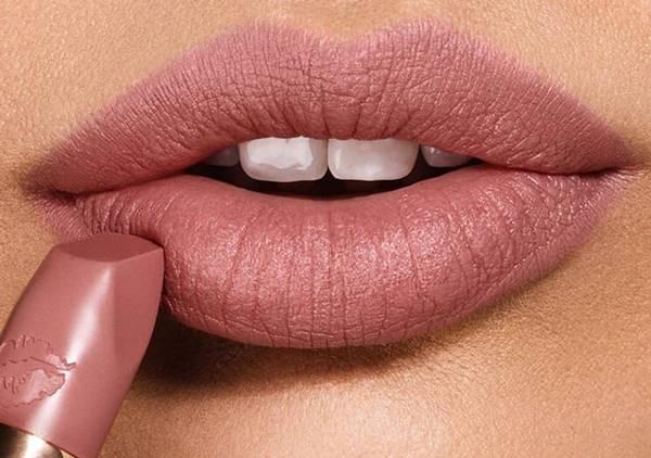 Foto de labios color nude