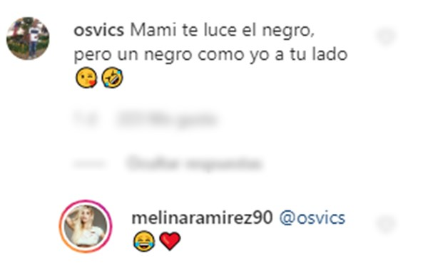 Comentario a Melina Ramírez