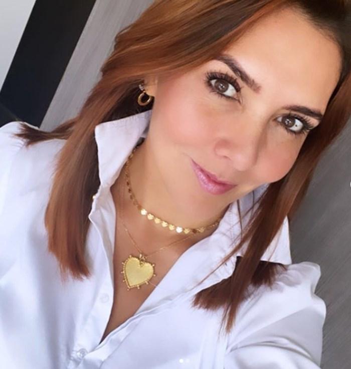 Mónica rodríguez y su cambio de look