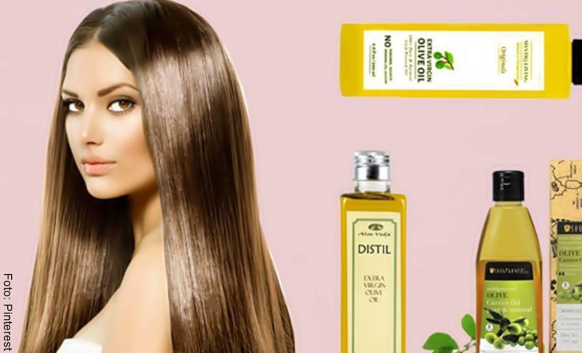 Aceite de oliva para el cabello: beneficios y uso