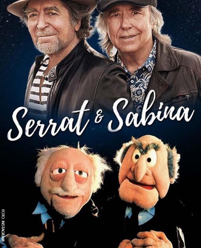 Joaquín Sabina y Joan Manuel Serrat Juntos