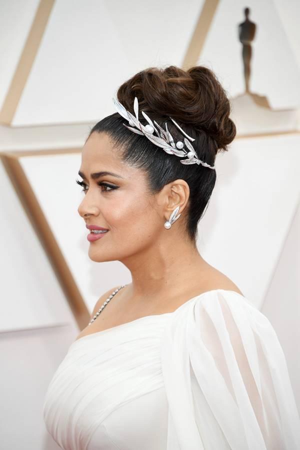 Foto de Salma Hayek en los Premios Óscar 2020