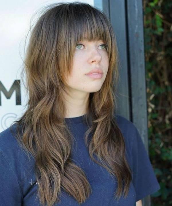 Foto de chica con este corte de pelo