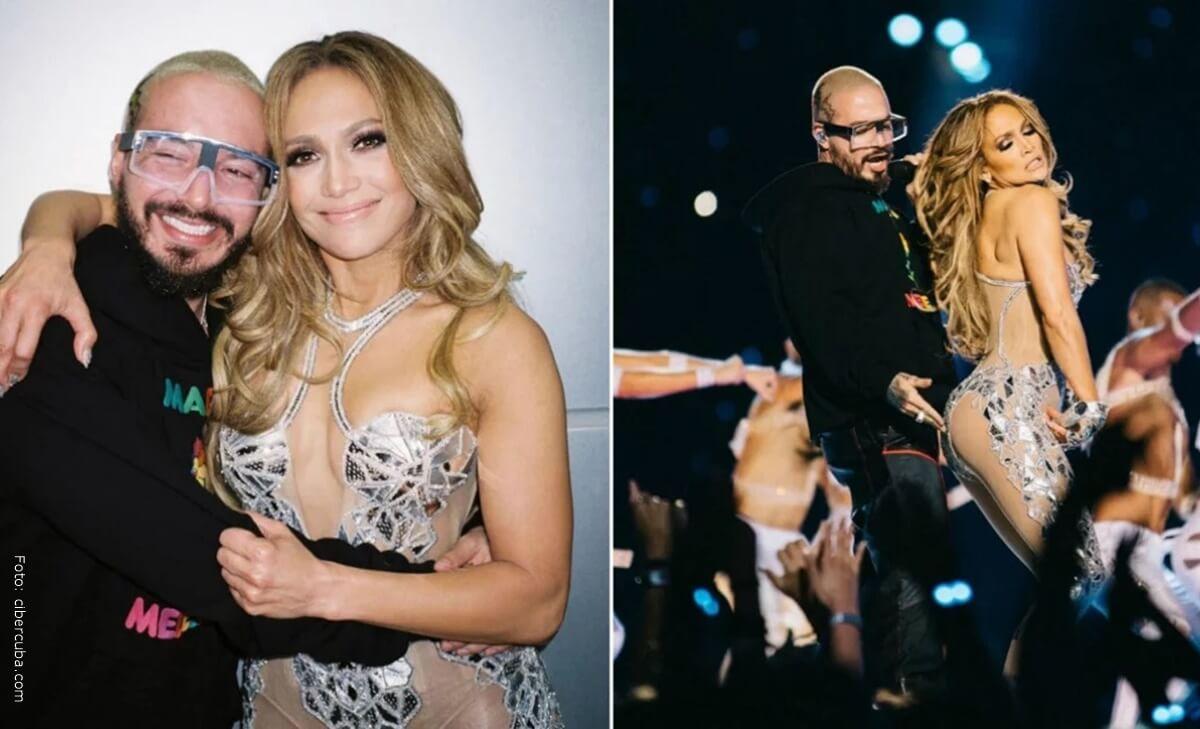 Jennifer Lopez respondió emotivo mensaje que le envió J Balvin