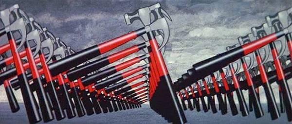 Imagen de The Wall, de The Pink Floyd