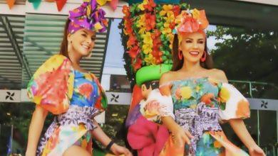 Trajes de carnaval de Barranquilla de Caro Cruz y otras famosas