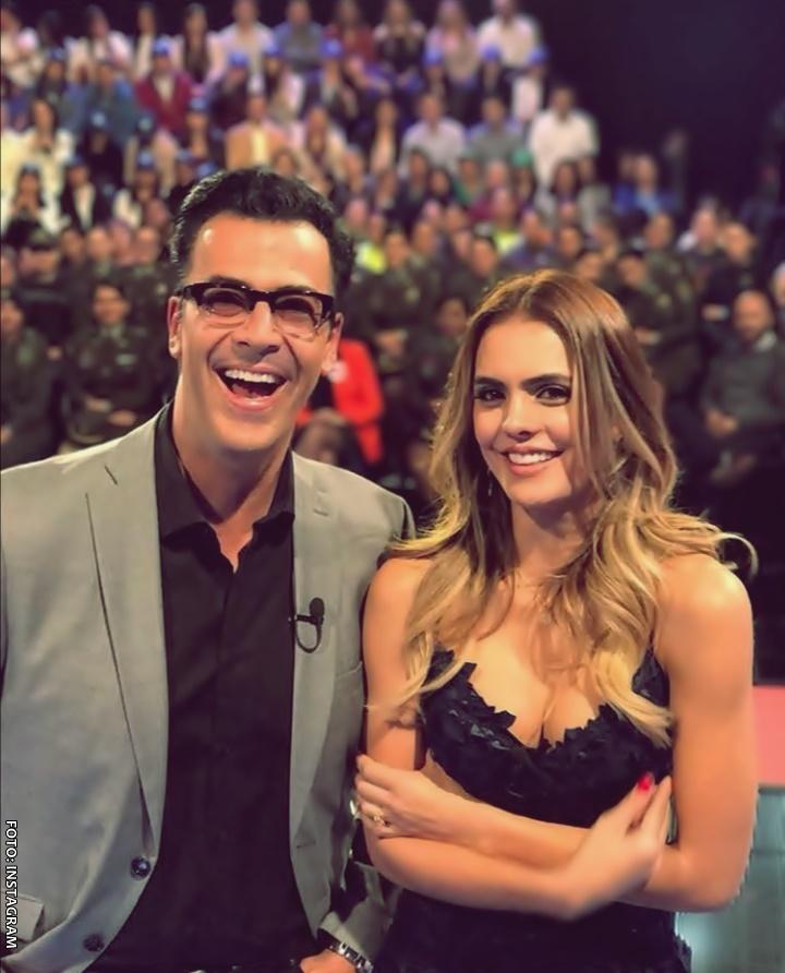 Humberto Rodríguez y Vaneza Peláez en Sábados Felices
