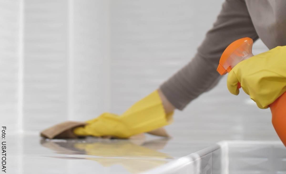 ¿Cómo limpiar y desinfectar la casa del coronavirus?