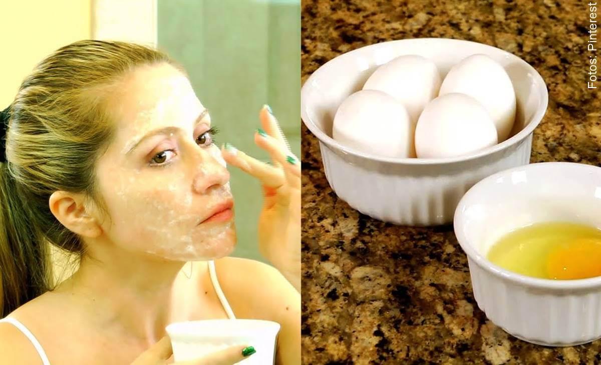 Mascarilla de huevo y limón para piel grasa