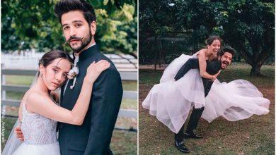 Evaluna y Camilo se burlan de quienes los critican por casarse