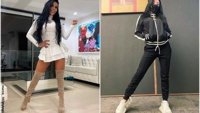 Marcela Reyes es criticada por vender tapabocas con lentejuelas