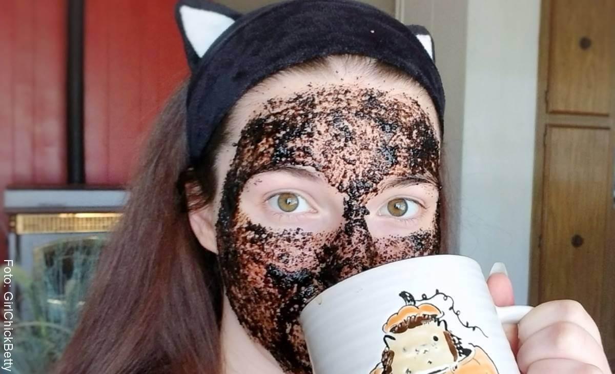 Mascarilla de café para la cara: Beneficios y aplicación