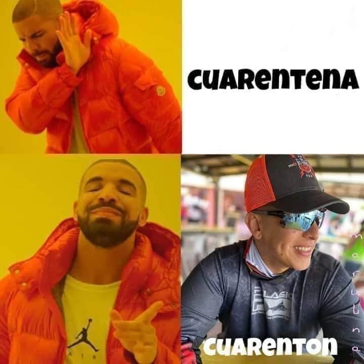 Memem covid-19 cuarentena - cuarentón