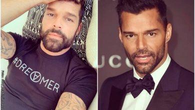 Ricky Martin enseñó su nuevo look y envió un contundente mensaje