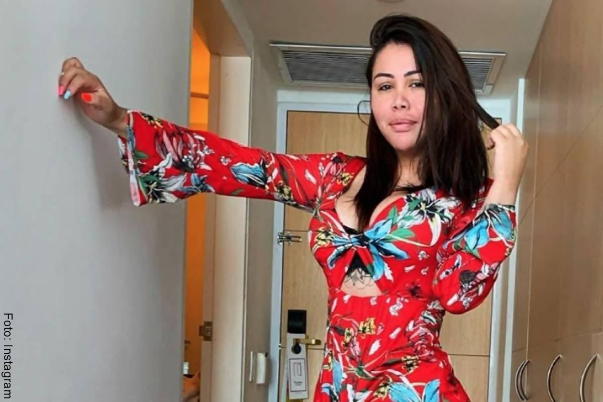Yina Calderón bailó en bikini y le criticaron su figura