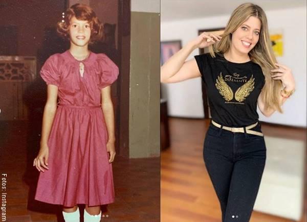 Fotos de Lorna Cepeda antes y después