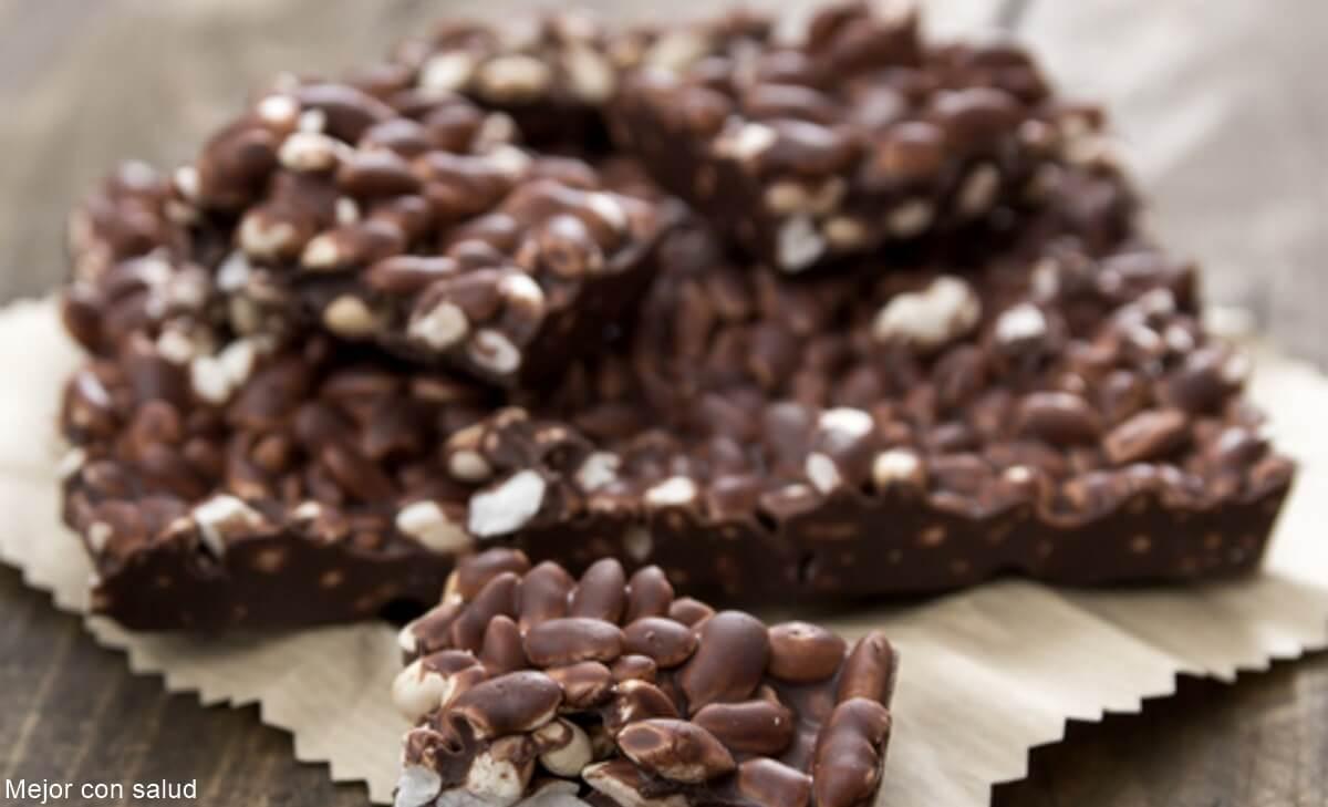 Receta de barras de cereal con Choco Krispis