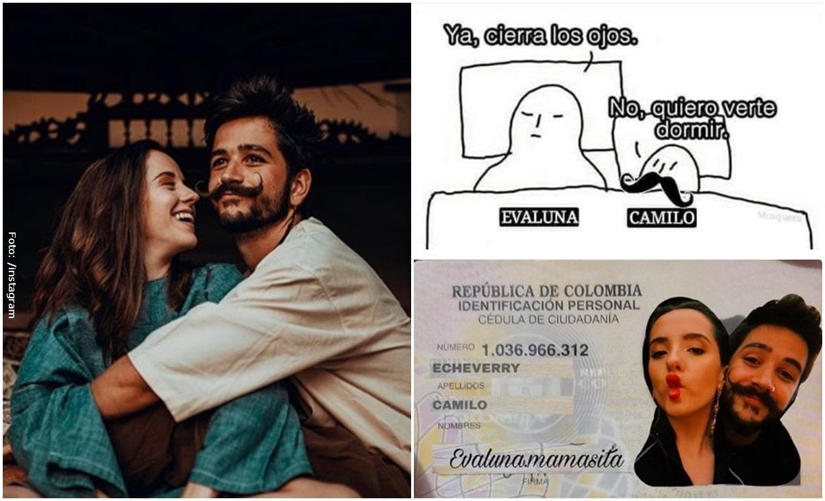 Camilo y Evaluna protagonizan los mejores memes de Internet