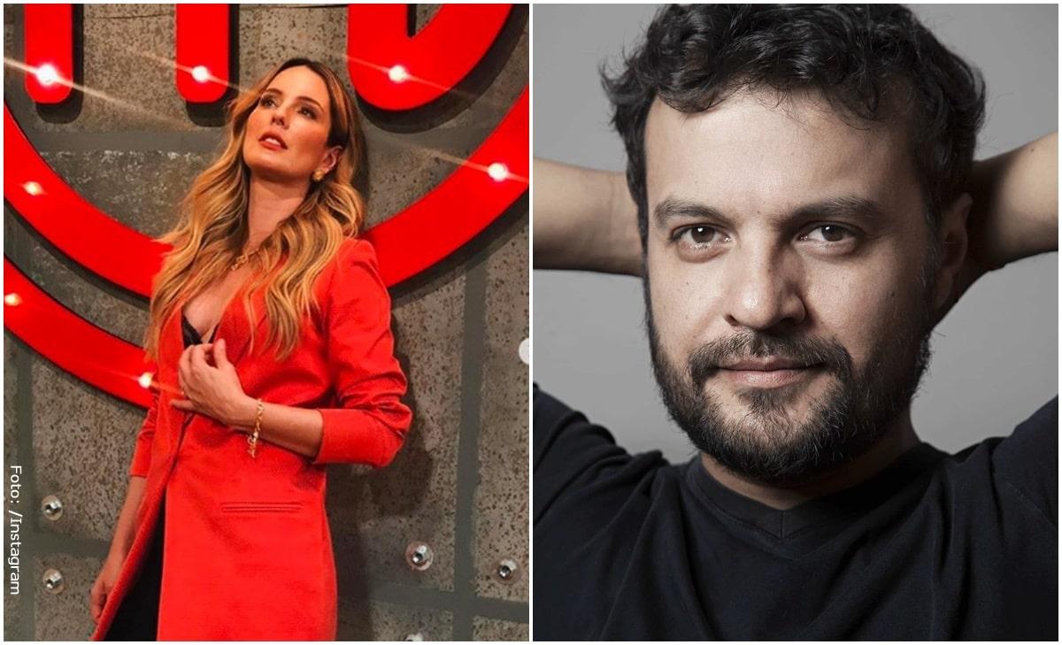 Claudia Bahamón lanzó atrevidos piropos a Julián Román