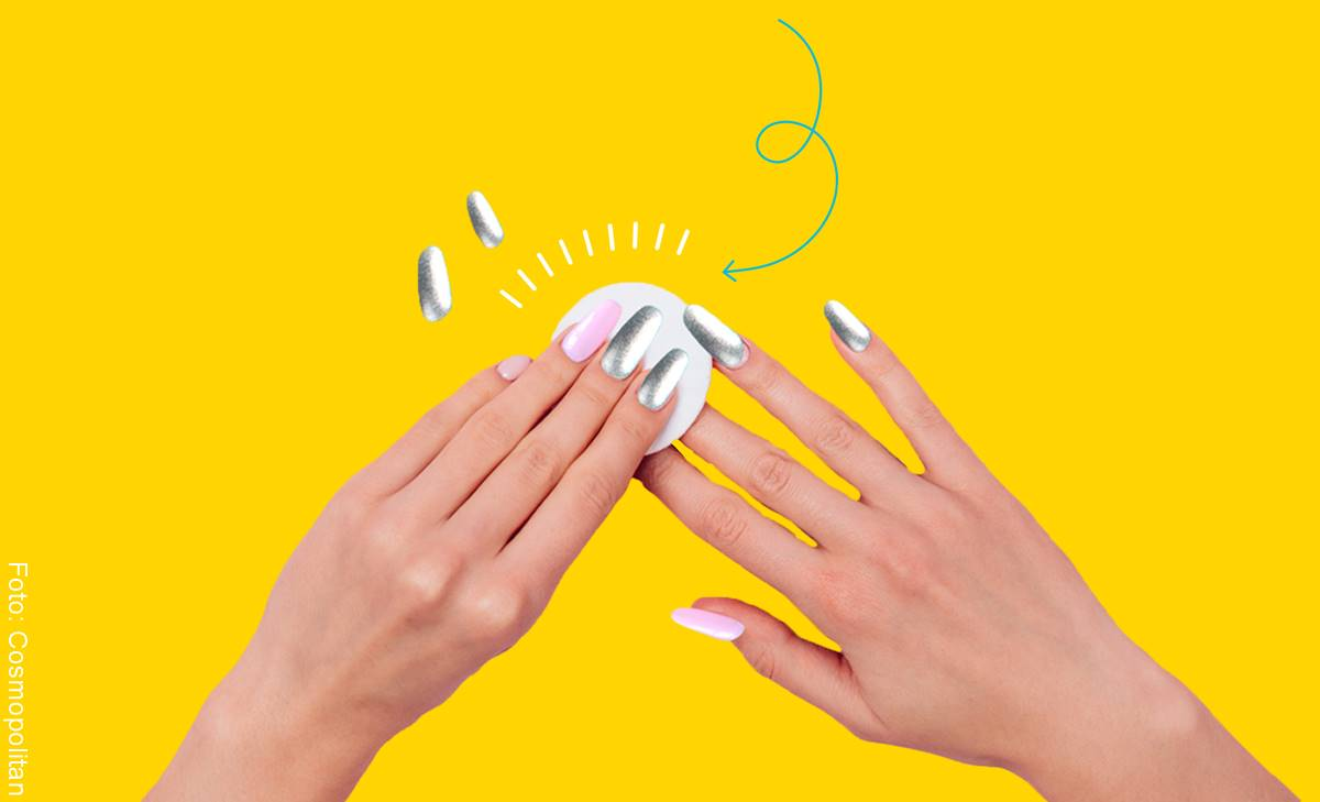 Cómo quitar las uñas acrílicas fácil y rápido en casa
