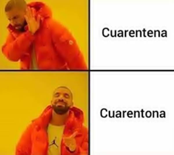 Meme para ilustrar las frases atrevidas para WhatsApp