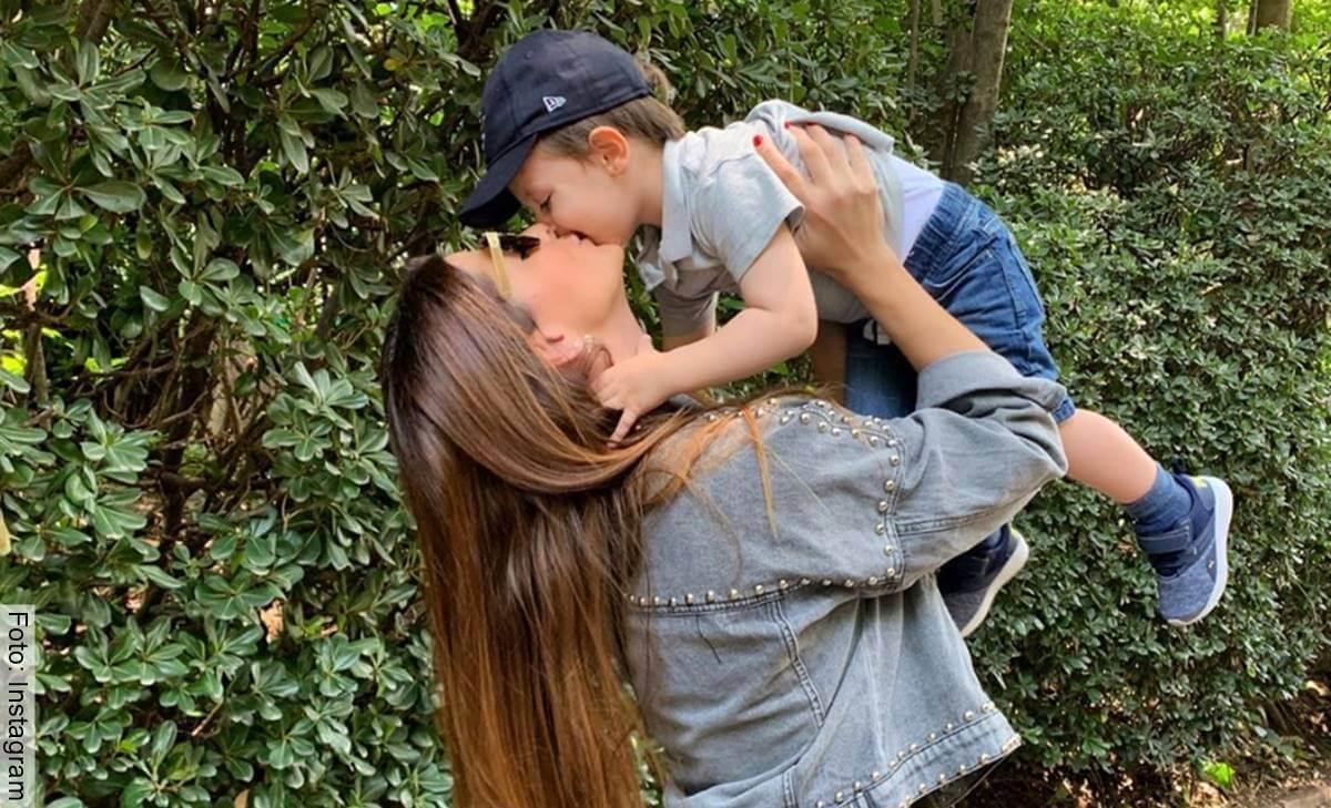 Hijo de Carolina Cruz salió en Día a día y nadie se lo esperaba