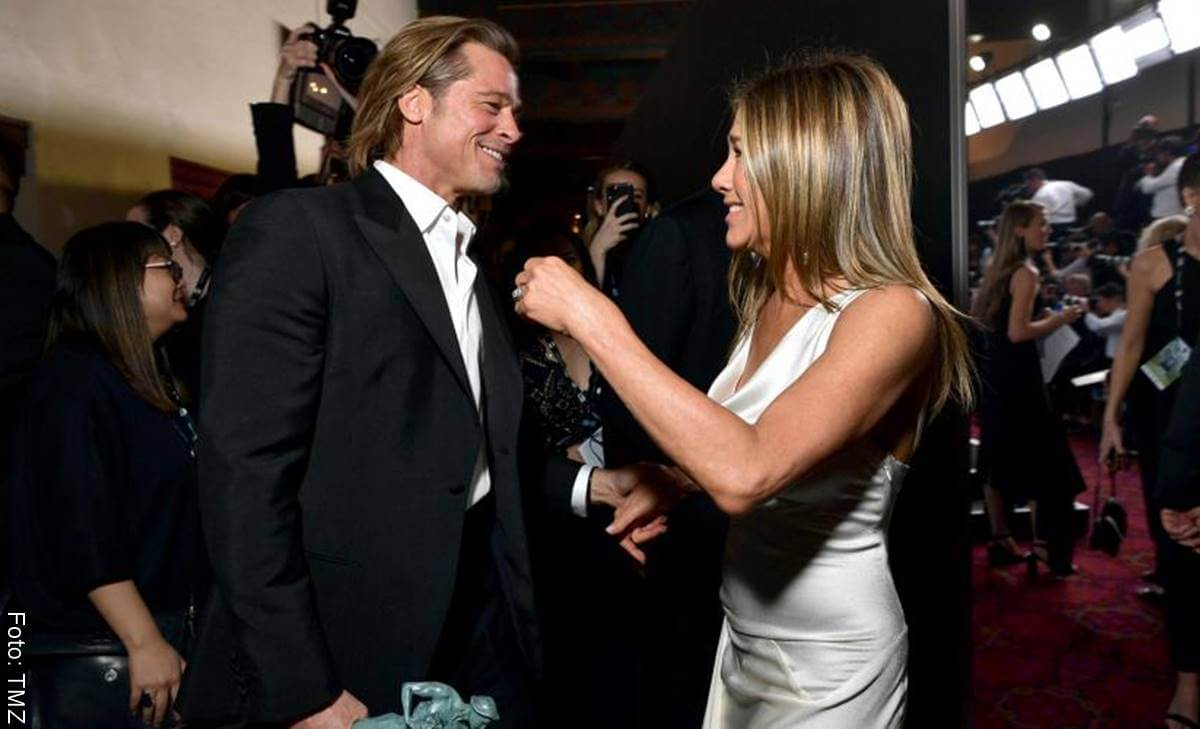 Jennifer Aniston y Brad Pitt regresan y... ¿se casan?