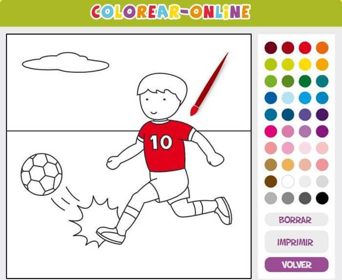 Ilustración de Colorear online