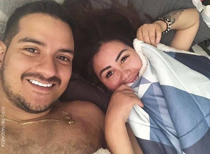 Yina Calderón y Julián Luna juntos