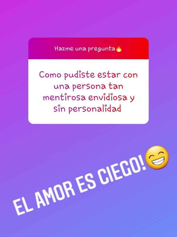 Respuesta de Julián Luna en Instagram