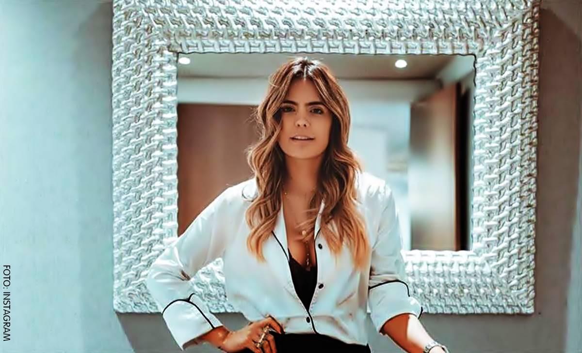 Las sensuales pijamas de Vaneza Peláez