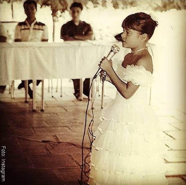 Foto de Marbelle cuando tenía 5 años