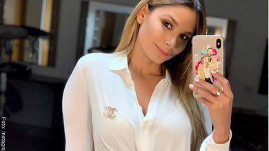 Melissa Martínez revela cicatriz de su rostro