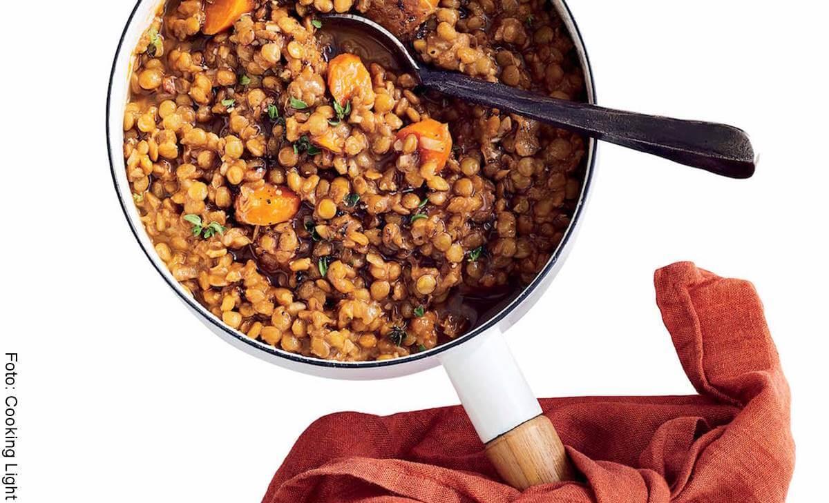 Receta de lentejas, un plato fácil, económico y delicioso
