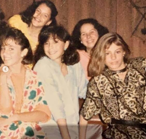 Foto de Sofía Vergara en los años 80