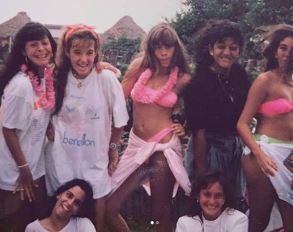 Foto de Sofía Vergara en los años 90