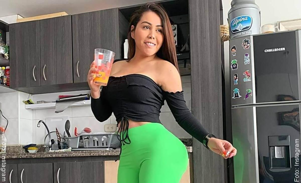 Yina Calderón quiere prótesis más grandes... ¿atrás?