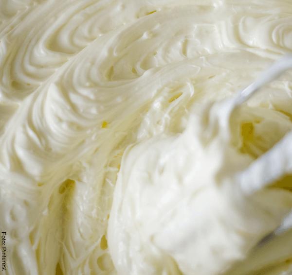 Foto de crema de limón batida