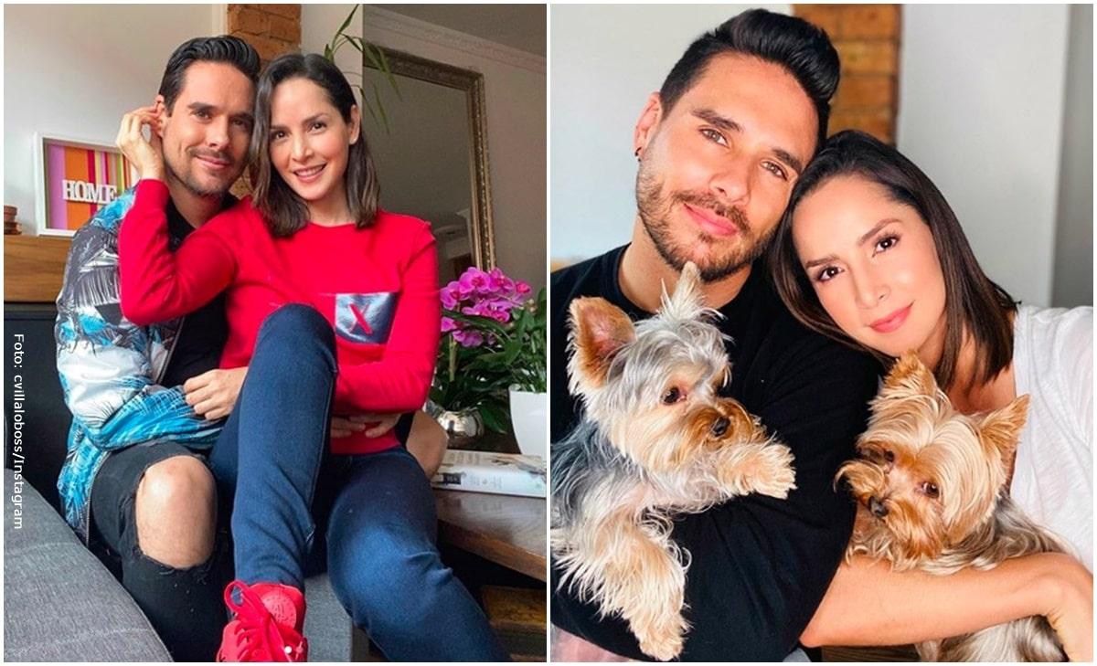 Carmen Villalobos y Sebastián Caicedo publicaron romántico baile