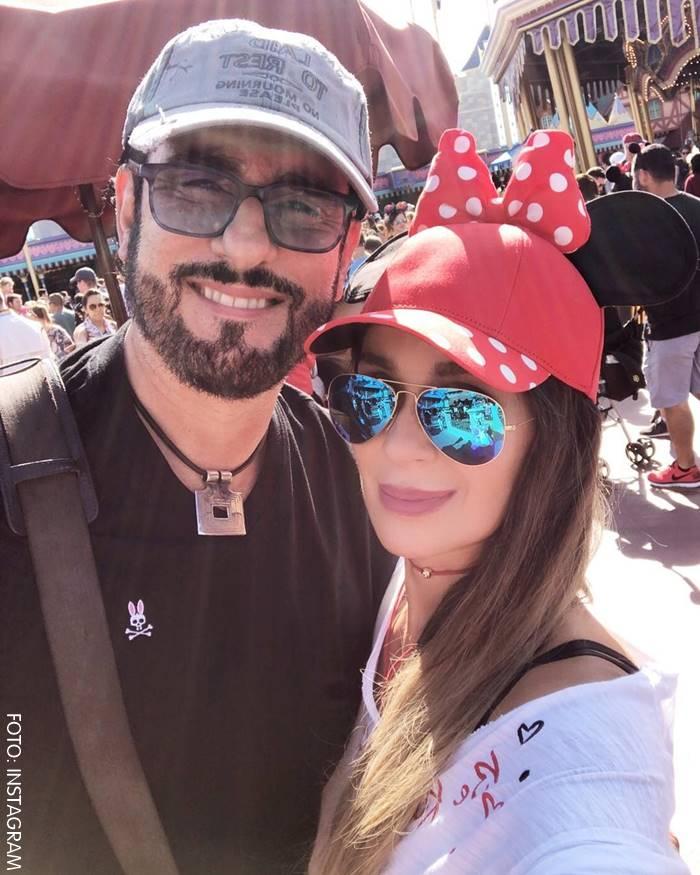 Catherine y Miguel Varoni en Disney