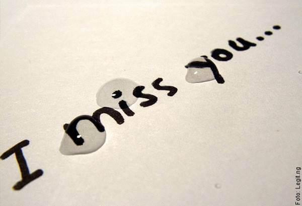 Imagen de la frase I miss you