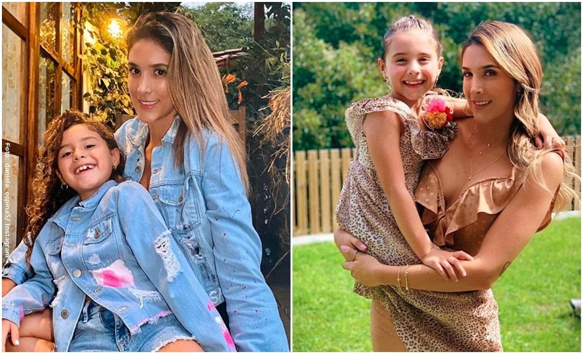 Daniela y la hija de James donarán computadores a niños de bajos recursos