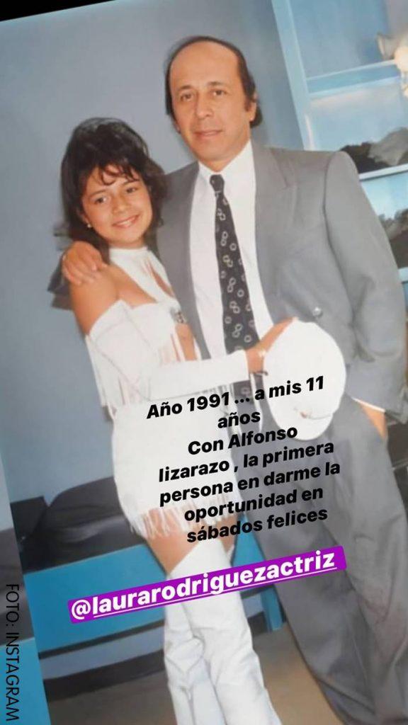 Marbelle al lado de Alfonso Lizarazo